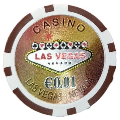 Las Vegas Laser €0,01 pokerchips