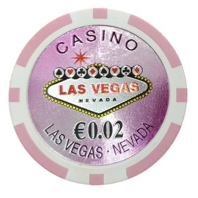 Las Vegas Laser €0,02 pokerchips