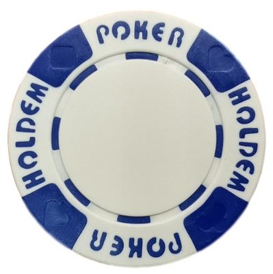 Poker Hold'em White pokerchip
