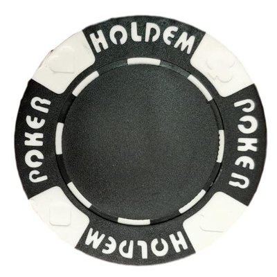 Poker Hold'em black pokerchip