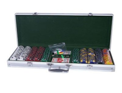 AK Suits 500 poker set