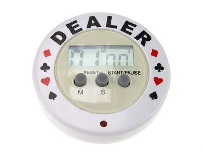 Dealerbutton met timer
