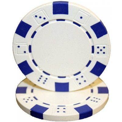 Dice pokerchips wit
