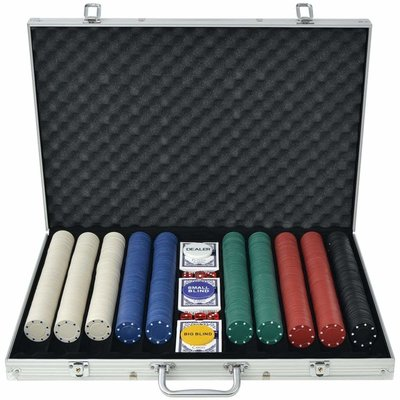 Suit design 1000 poker set