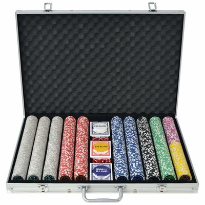 Ultimate 1000 poker set