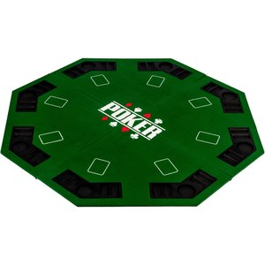 Poker table top octagon green